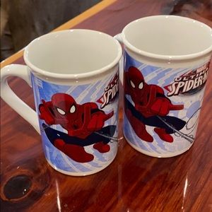 2 Marvel Ultimate Spider-Man Cups